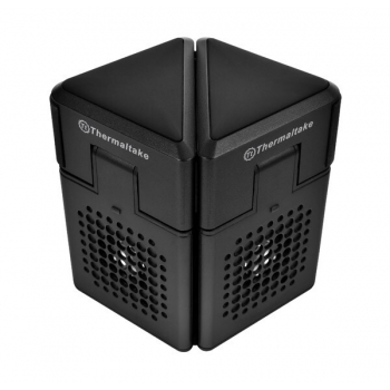 Thermaltake Satellite 2-in-1 Notebook Cooler and Speaker, structura din plastic, dimensiune notebook: 10