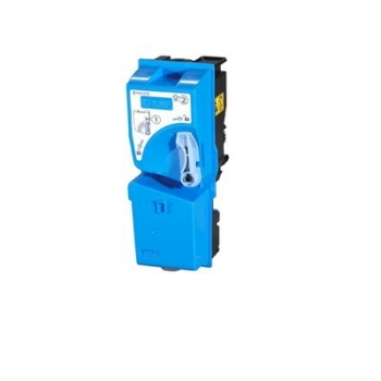 Cartus Toner Kyocera TK825C Cyan 7000 Pagini for KM-C2520, KM-C2525E, KM-C3225, KM-C3232, KM-C4035E