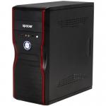 Carcasa Middle Towerr Spacer New Mercury Sursa 500W 2x USB 2.0 2x jack 3.5mm black SPC-NEW MERCURY