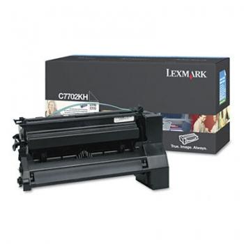 Cartus Toner Lexmark C7702KH Black 1000 pagini for C770N, C772N, X772N