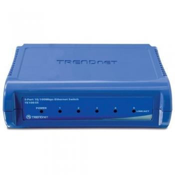 Switch TRENDnet TE100-S5 5xRJ-45 10/100Mbps
