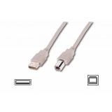 ASSMANN AK-300102-018-E :: USB 2.0 Cable, Type A-B 1.8 m