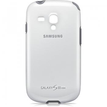 Husa Samsung EFC-1M7BWEGSTD pentru i8190 Galaxy S III Mini White