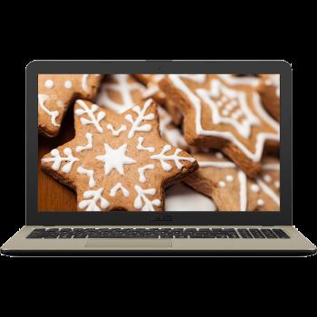 Laptop Asus VivoBook X540UB-DM756 Intel i7-8550U up to 4GHz 8GB DDR4 HDD 1TB nVidia GeForce MX110 2GB Endless OS Chocolate Black