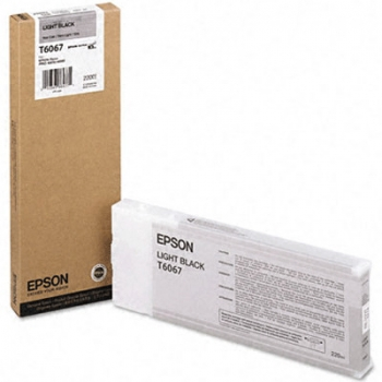 Cartus Cerneala Epson T6067 Light Black 220ml for Stylus Pro 4800, Stylus Pro 4880 C13T606700