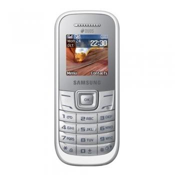 Samsung E1202 White Dual SIM SAME1202WHT