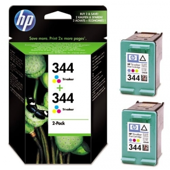 Pachet Cartus Color HP Nr. 344 Color 2 Bucati for DeskJet 6540 C9505EE