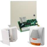 Kit DSC KIT 585-SIR 1 x centrala PC585 (tastatura inclusa),1 x transformator TC20/16,1 x sirena de exterior autoalimentata cu flash