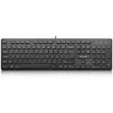 Tastatura Delux KA150U USB black
