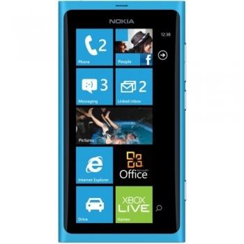 "Telefon Mobil Nokia Lumia 800 Cyan 3.7"" 16GB Windows Phone 7.5 NOK800CY"