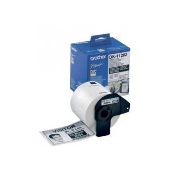 Rola Etichete Brother DK11202 shipping label Dimensiune 62mm X 100mm 300 bucati
