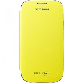 Husa Samsung Flip Cover pentru i9300 Galaxy S III Yellow EFC-1G6FYECSTD