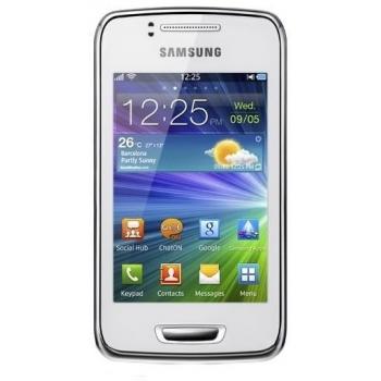 """Telefon Mobil Samsung Wave Y S5380 Pearl White 3G 3.2"""" 320 x 480 TFT 832 MHz memorie interna 150MB Bada v2.0 SAMS5380WHT"""