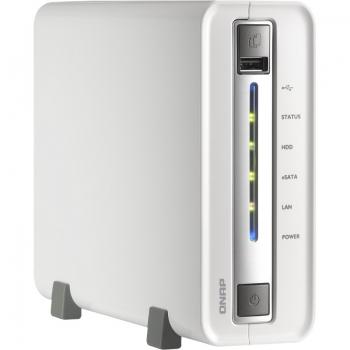 "Network Storage Qnap TS-112-EU 1 Bay 0TB (Diskless) 3.5"" SATA2"