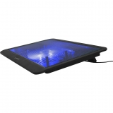 """Cooler Laptop Gembird 15"""" Fan 12.5cm black NBS-1F15-03"""