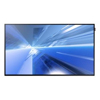 "Monitor LFD LED Samsung 55"" DH55E Smart Signage Full HD 1920x1080 VGA DVI HDMI DisplayPort Retea RJ45 8ms LH55DHEPLGC/EN"