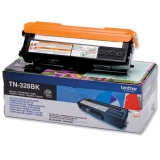 Cartus Toner Brother TN328BK black capacitate 6000 pagini for HL-4570CDW, MFC-9970CDW