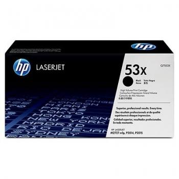 Cartus Toner HP Nr. 53X Black 7000 Pagini for LaserJet M2727NF, M2727NFS, P2014, P2015, P2015D, P2015DN, P2015N, P2015X Q7553X