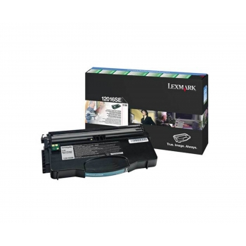 Cartus Toner Lexmark 12016SE Black 2000 pagini for Lexmark Optra E120, Optra E120N