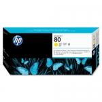 Cap Printare HP Nr. 80 Yellow for Designjet 1050, Designjet 1055 C4823A