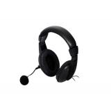 Casti Spacer SPK-222 cu microfon si control de volum black