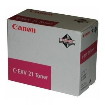 Cartus Toner Canon C-EXV21M Magenta 14000 Pagini for IR C2380I, IR C2880, IR C2880I, IR C3080, IR C3080I, IR C3380, IR C3380I, IR C3580, IR C3580I CF0454B002AA