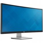 """Monitor LED IPS Dell UltraSharp 34"""" U3415W Curved UltraWide QHD 3440x1440 Ecran Curbat HDMI Mini DisplayPort DisplayPort"""