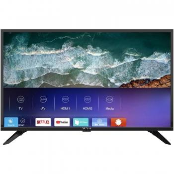 "Televizor Direct LED TESLA 32""(81cm) 32T319BHS Smart TV HD Ready LAN WiFi HDMI USB 2.0 Slot Card CI+ Media Player NETFLIX"