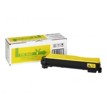 Cartus Toner Kyocera TK-560Y Yellow 10000 Pagini for Kyocera Mita FS-C5300DN