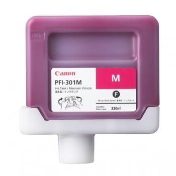 Pigment Ink Tank Canon PFI-301M Magenta 330 ml for iPF8X00, iPF8000S, iPF9X00, iPF9000S CF1488B001AA