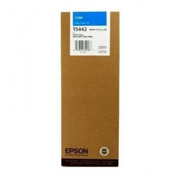 Cartus Cerneala Epson T5442 Cyan 220ml for Stylus Pro 4000, Stylus Pro 7600, Stylus Pro 9600 C13T544200