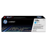 Cartus Toner HP Nr. 128A Cyan 1300 Pagini for Color LaserJet CM1415NF MFP, CM1415NFW MFP, CP1525N, CP1525NW CE321A