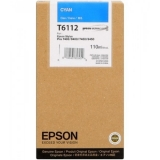 Cartus Cerneala Epson T6112 Cyan 110ml for Stylus Pro 7400, 7450, 9400, 9450 C13T611200
