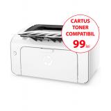 Imprimanta laser alb negru HP M12a Monocrom Format A4 18 ppm USB