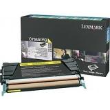 Cartus Toner Lexmark C734A1YG Yellow Return Program 6000 pagini for C734, X734, C736, X736, X738