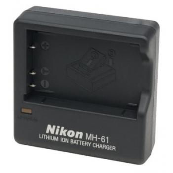 Incarcator acumulator Nikon MH-61 EN-EL5 pentru COOLPIX P500, P100, P80, P90, P5000, P5100, P6000, VAK136EB