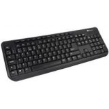 Tastatura Serioux SRXK-9400MM Multimedia USB neagra