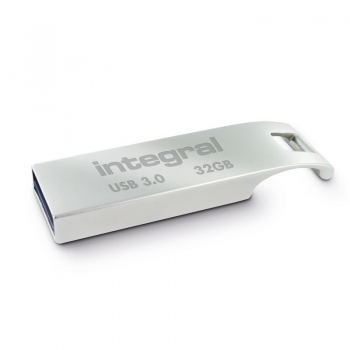 Memorie USB Integral ARC 32GB USB 3.0 metalic INFD32GBARC3.0