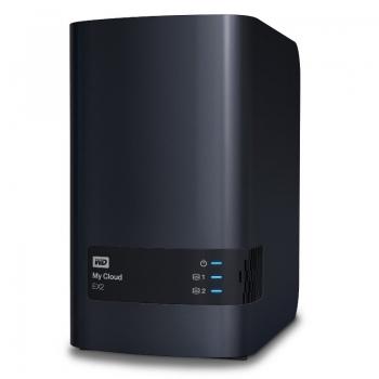 Network Storage Western Digital My Cloud EX2 2 Bay 12TB (2x6TB) WDBVKW0120JCH