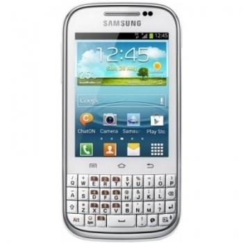 Telefon Mobil Samsung Galaxy Chat B5330 white 850Mhz memorie interna 4GB Android 4.0 SAMB5330WH