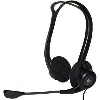 Casti Logitech 960 cu microfon si control de volum USB negru 981-000100