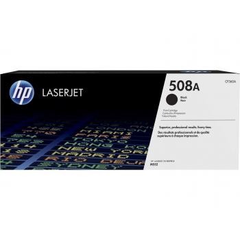 HP 508A Black Original LaserJet Toner Cartridge (6k)