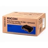 Cartus Toner Ricoh 402810 Black 15000 Pagini for Aficio SP 4100N, Aficio SP 4110N, Aficio SP 4210N