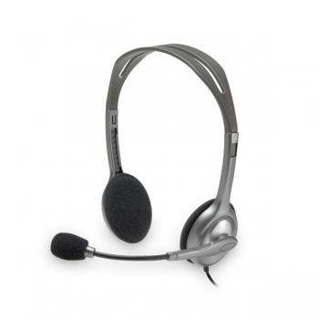 Casti Logitech H110 cu microfon gri 981-000271