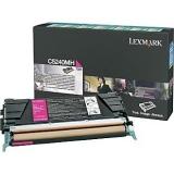 Cartus Toner Lexmark C5240MH Magenta 5000 pagini for C524, C524DN, C524DTN, C524N, C532DN, C532N