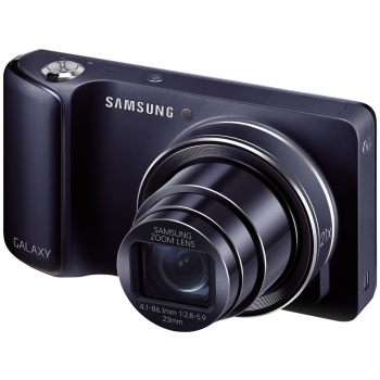Camera Foto Digitala Samsung Galaxy Camera EK-GC100 16.3 MP Zoom Optic 21x OIS 3G WiFi Android 4.1 8GB Black EK-GC100ZKACOA