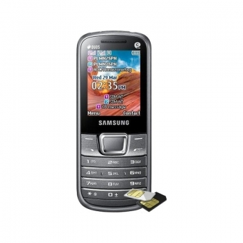 Samsung E2252 Silver Dual SIM SAME2252SLV