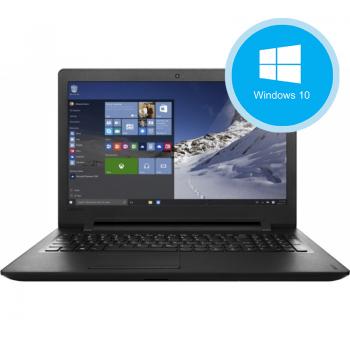 "Laptop Lenovo Ideapad 110-15IBR Intel Celeron N3060 up to 2.48GHz 4GB RAM DDR3 HDD 500GB Intel HD 400 15.6"" HD Windows 10 Home 64 bit 80T700KLRI"