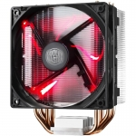 COOLER CPU COOLER MASTER Hyper 212 LED, universal, soc. LGA 2011/1366/115x/775/FMx/AMx, Al-Cu, 4* heatpipe, 180W