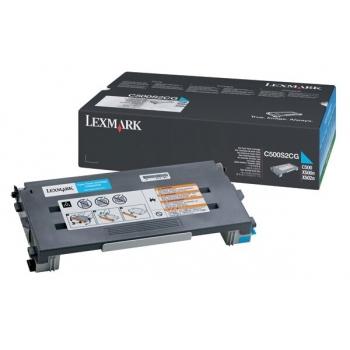 Cartus Toner Lexmark C500S2CG Cyan 1500 pagini for C500N, X500N, X502N